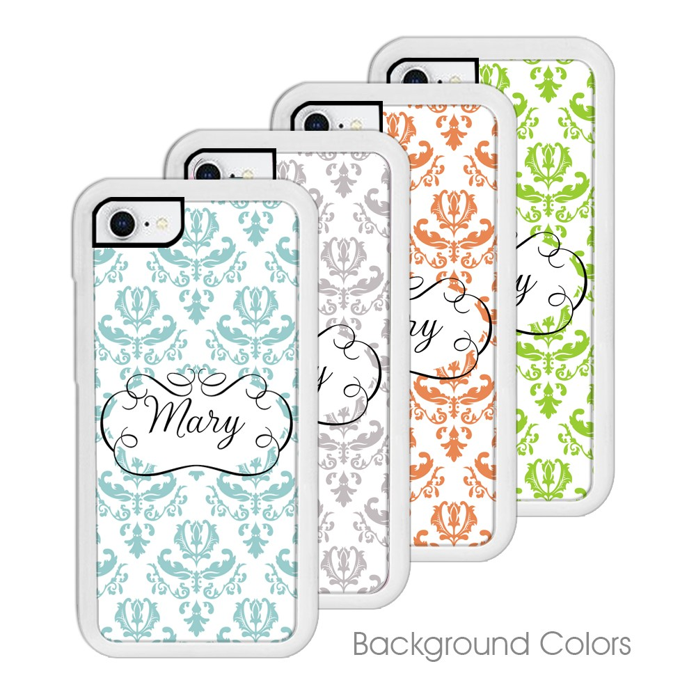personalized iphone cases beautiful brocade personalized iphone 12769