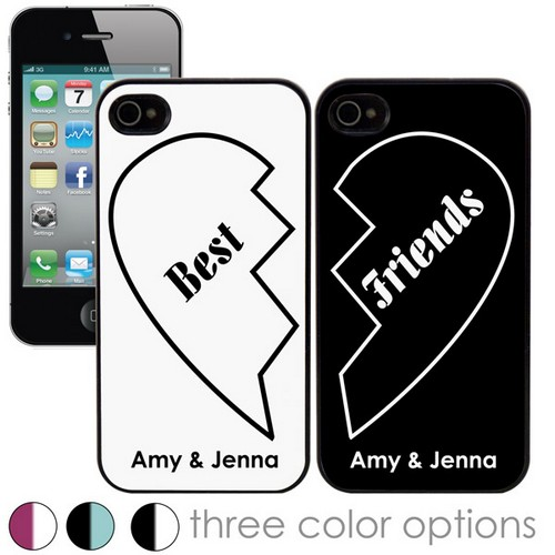 Best Friends Personalized iPhone Case Set
