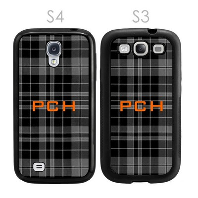 Black and Grey Personalized Galaxy S3-S4 Case
