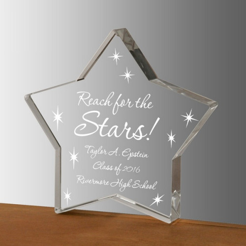 Reach for Stars Plaque for Graduates