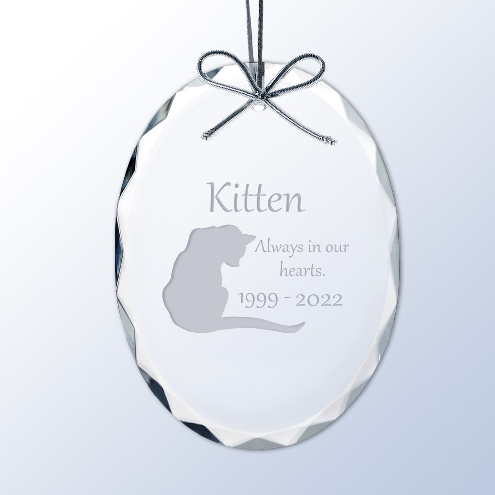 Personalized Cat Ornament Personalized Dog Ornament Forever Loved Personalized Pet Memorial Christmas Ornament Personalized Gift |