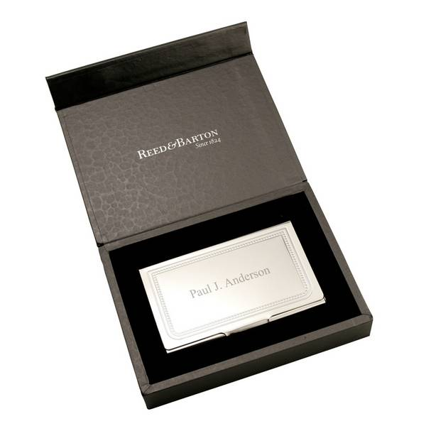 Charleston personalized business card holder colourmoves
