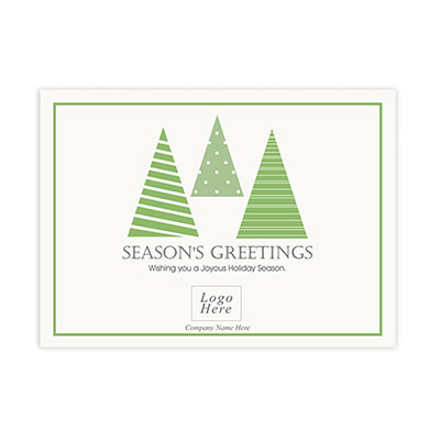 Christmas Tree Corporate Holiday Card
