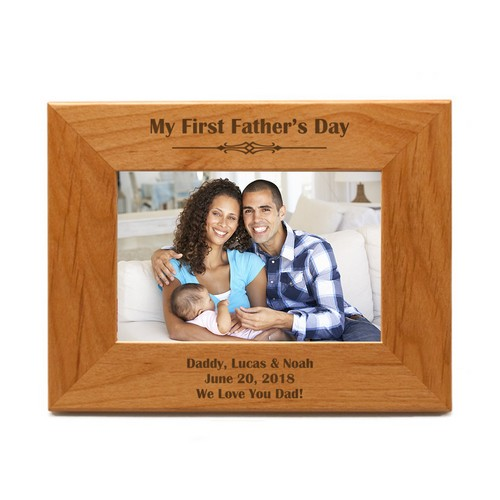Classic First Fathers Day Frame