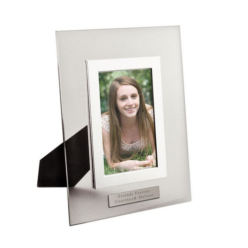 Clear Glass Personalized 4x6 Photo Frame