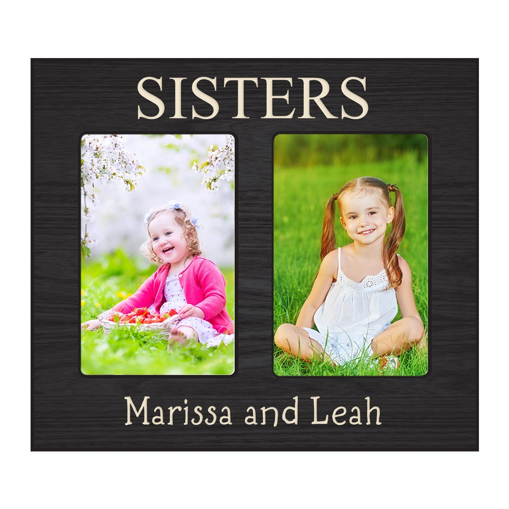Your own personalized double 4x6 picture frame create your own personalized double 4x6 picture frame jeuxipadfo Choice Image