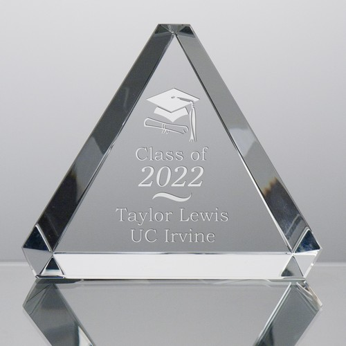 Crystal-Triangle-Paperweight-for-Grads-9282