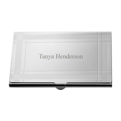 Sleek Business Card Holder - ON CLEARANCE WHILE SUPPLIES LASTS