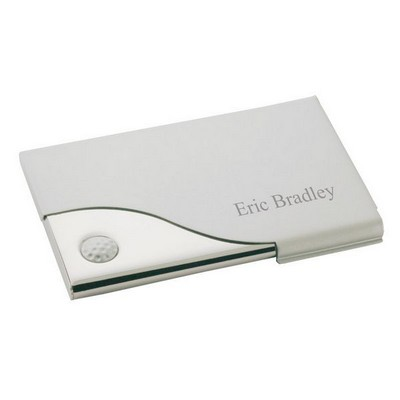 Golf Pocket Business Card Holder