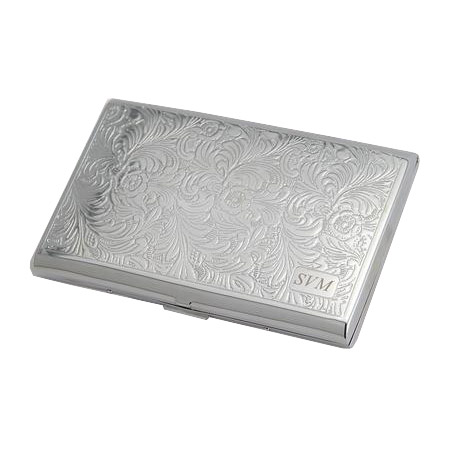 Sophisticated Silver Cigarette Case