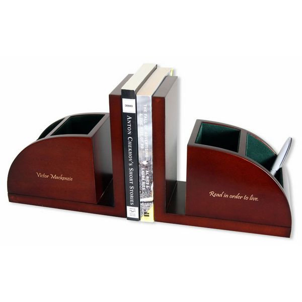 Desk Organizer with bookends