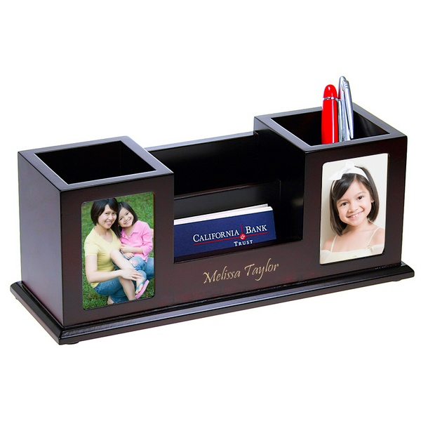 Desk Photo Organizer