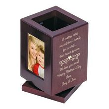 Mothers Love Photo Pencil Cup