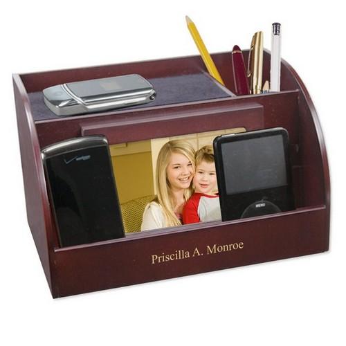 Personalized Desktop Charging Organizer