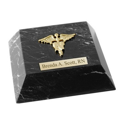 Personalized Nurses Marble Paperweight