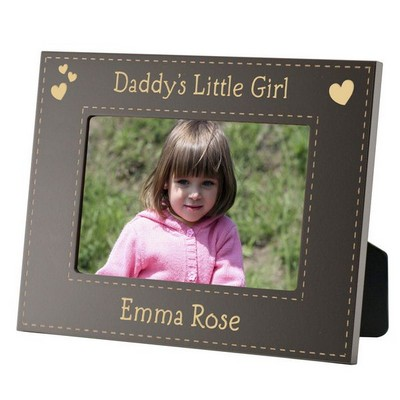 Personalized Baby Picture Frame on Daddys Little Girl Personalized 3x3 Picture Frame   Engraved Father