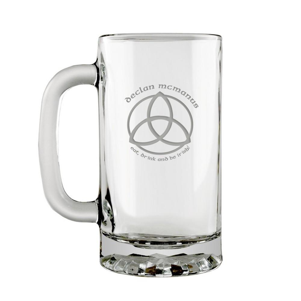 Be Irish Personalized Beer Mug
