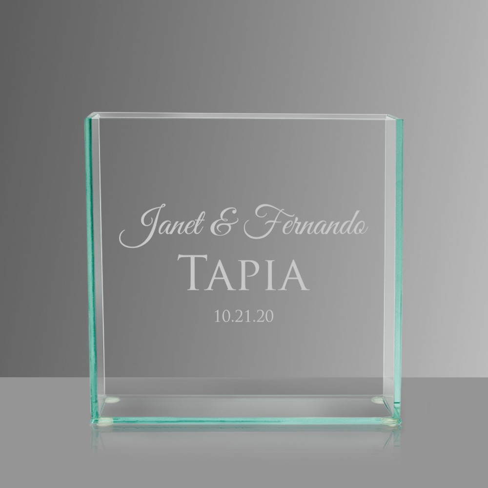 Glass vase with couples names engraved glass vase with couples names reviewsmspy