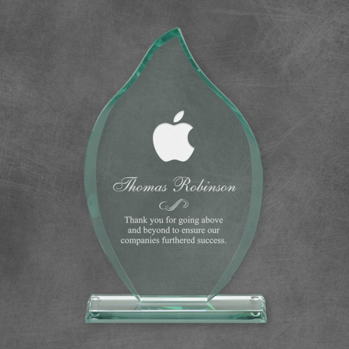 Eternal Flame Personalized Logo Award