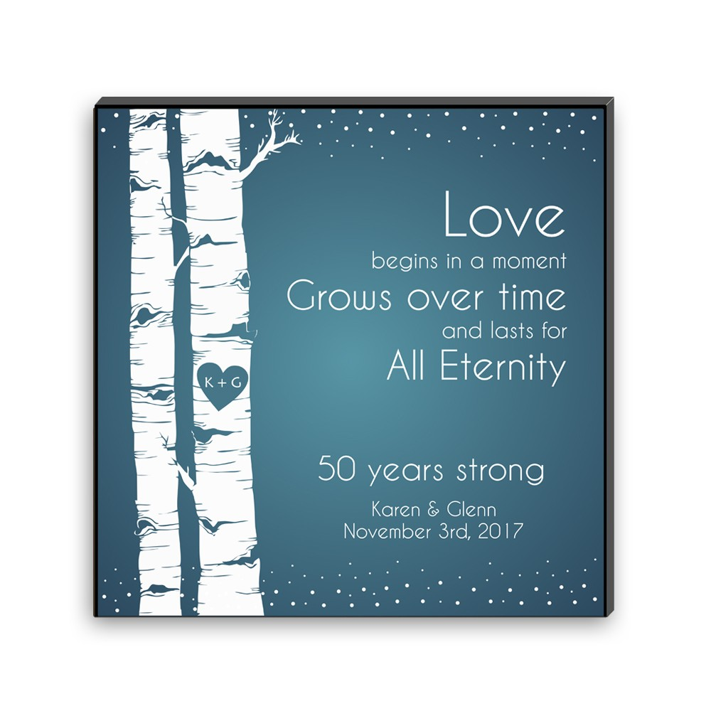 eternal love carved heart wall art panel