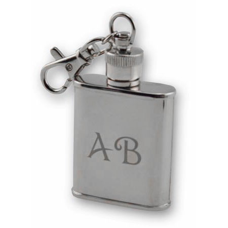 Unique Stainless Steel Flask Keychain