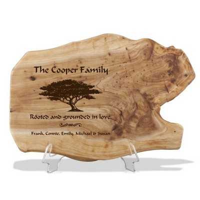 Family Love Personalized Fir Wood Plaque