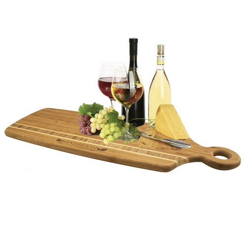 Family Name Personalized Bamboo Cutting Board