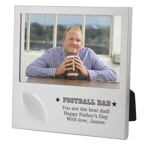 Football Dad Picture Frame