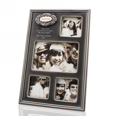 Four Photo Personalized Ceramic Graduation Frame