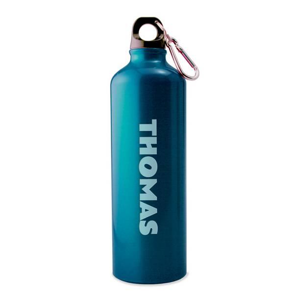 Personalized Blue Water Bottle Customized Water Bottle