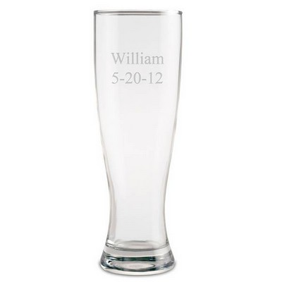 Personalized Pint Beer Glass