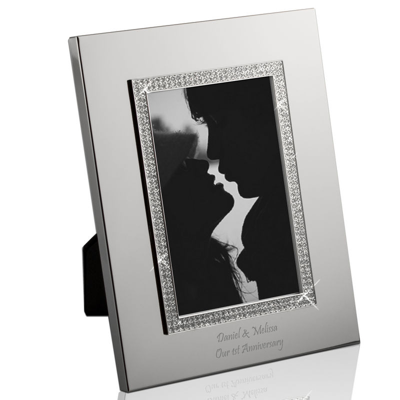 Glitter Galore Personalized 4x6 Photo Frame