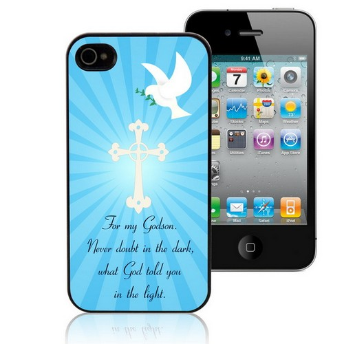 Gods Light Personalized iPhone Case