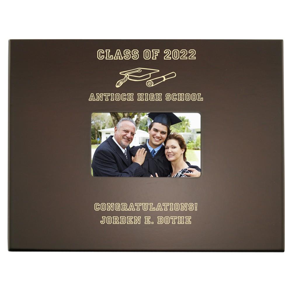 Graduation Personalized Keepsake Box With Frame
