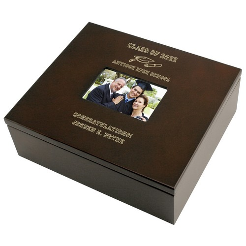 Graduation Personalized Keepsake Box with Frame