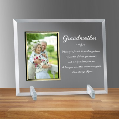 "Grandmother Horizontal 4"" x 6"" Photo frame"