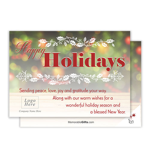 Happy Holiday Corporate Holiday Card