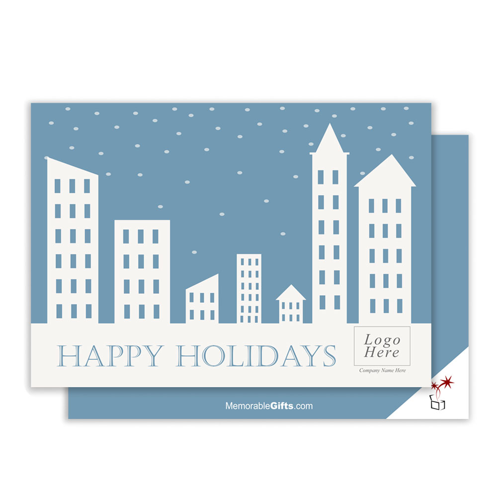 Building corporate holiday card holiday building corporate holiday card magicingreecefo Choice Image