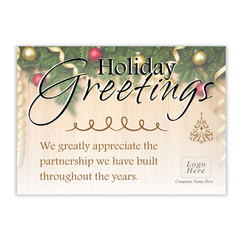 Business christmas card messages partnership – Photo world Christmas