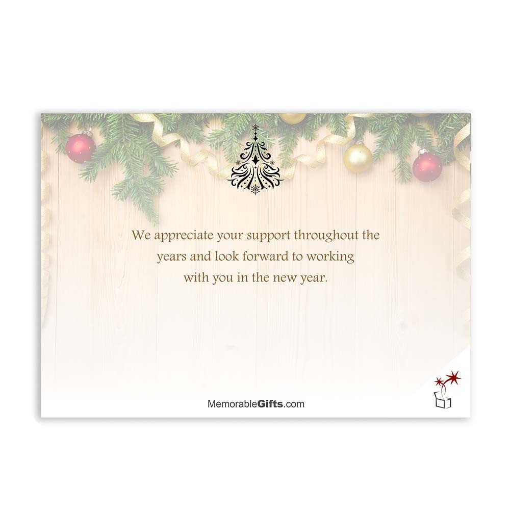 Holiday greetings corporate holiday card m4hsunfo
