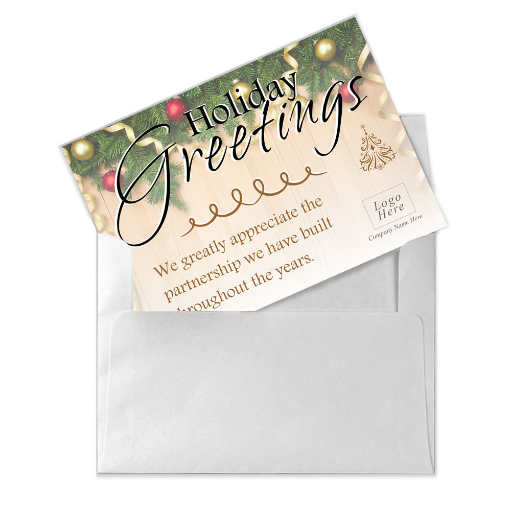 Greetings corporate holiday card holiday greetings corporate holiday card kristyandbryce Image collections