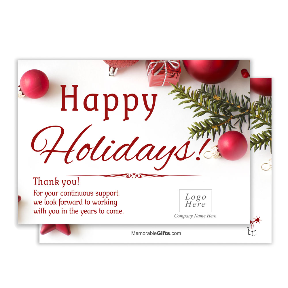 Holiday wishes corporate holiday card m4hsunfo