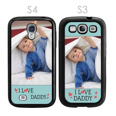I Love Daddy Personalized Galaxy S3-S4 Case