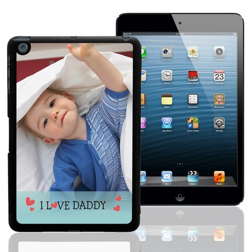 I Love Daddy Personalized iPad Mini Case