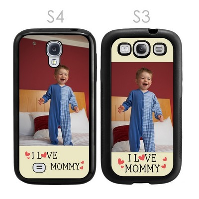 I Love Mommy Personailzed Galaxy S3-S4 Case