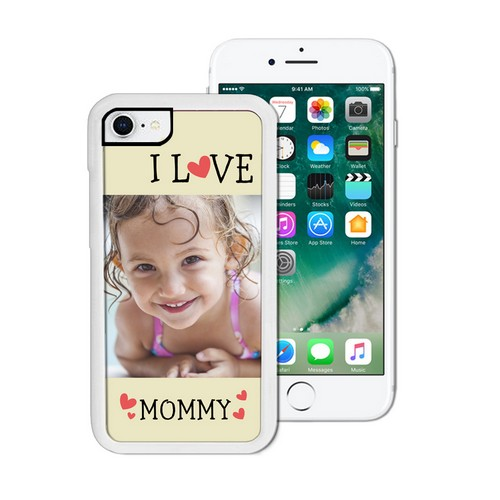 I Love Mommy Photo iPhone Case