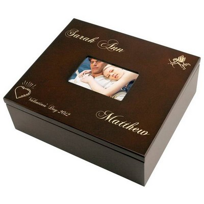 Romantic Valentines Day Treasures Keepsake Box