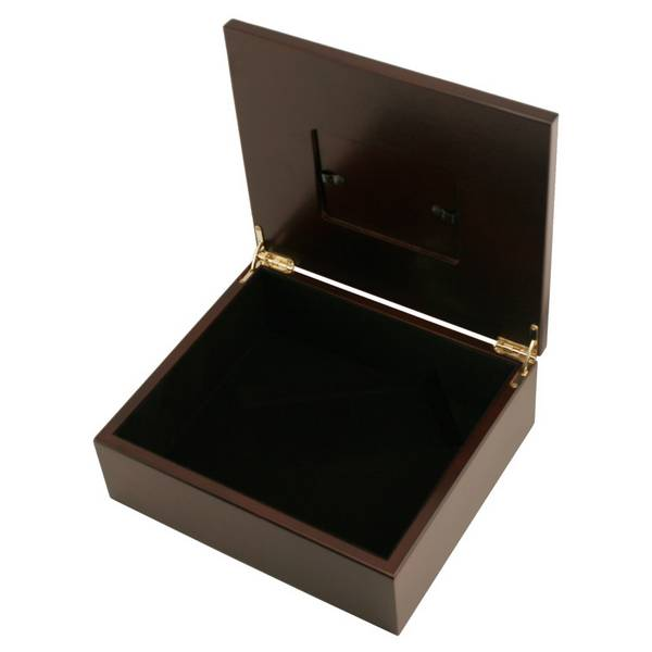 personalized treasure box with frame
