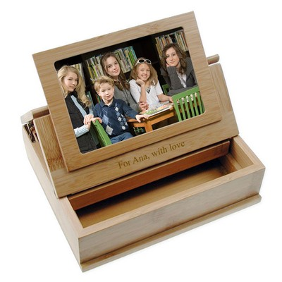 Bamboo Treasure Box and Picture Frame