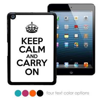 Keep Calm and Carry On Personalized iPad Mini Case